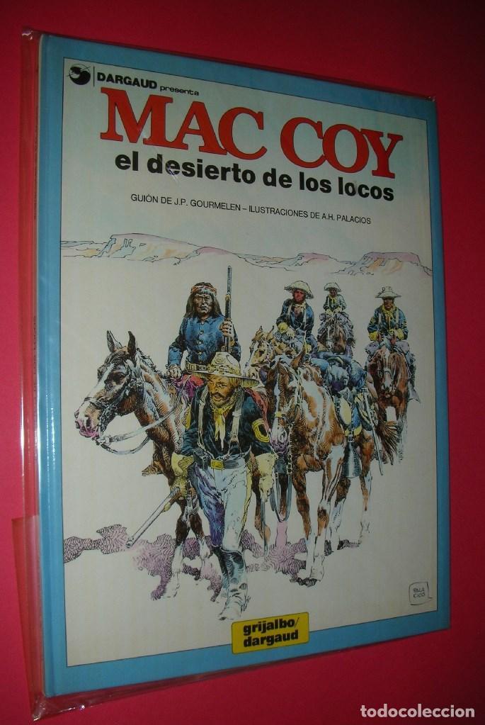 Cómics: MAC COY 5 TOMOS : Nº 2-8-12-14-18 GRIJALBO-DARGAUD . NUEVOS Y NUNCA LEÍDOS - Foto 5 - 118220295