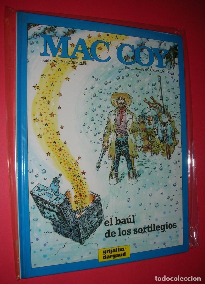 Cómics: MAC COY 5 TOMOS : Nº 2-8-12-14-18 GRIJALBO-DARGAUD . NUEVOS Y NUNCA LEÍDOS - Foto 6 - 118220295