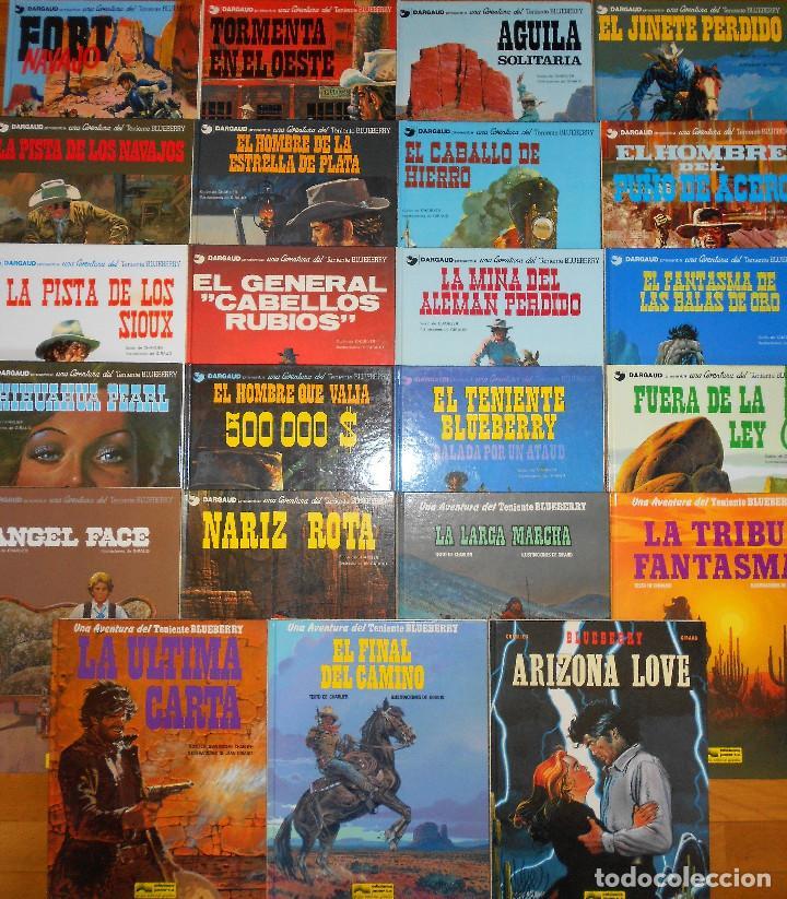 TENIENTE BLUEBERRY. ETAPA DE CHARLIER & GIRAUD COMPLETA. MUY BUEN ESTADO EN GENERAL. (Tebeos y Comics - Grijalbo - Blueberry)