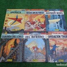 Cómics: COMIC GRIJALBO: LEFRANC 6 PRIMEROS NUMEROS (COLECCION DE 10). Lote 118446523