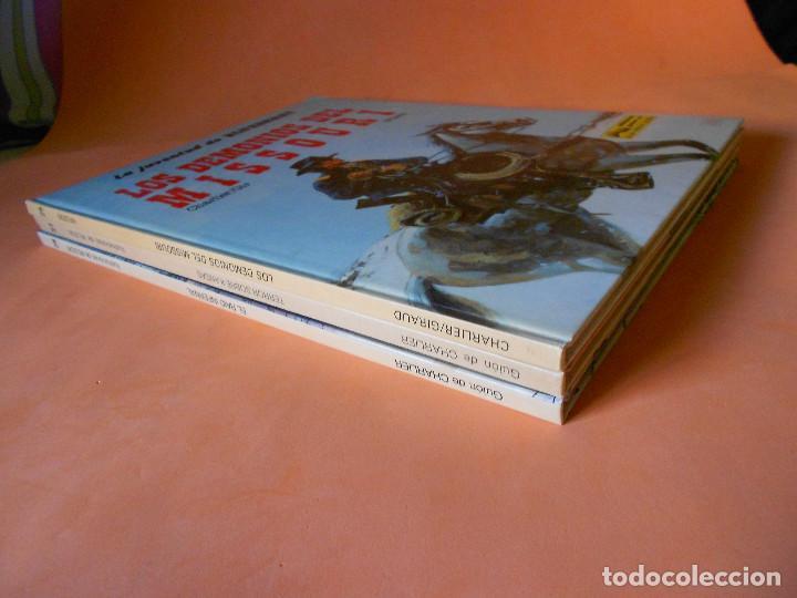 Cómics: BLUEBERRY. LA JUVENTUD DE BLUEBERRY. CHARLIER & GIR & WILSON. TRES VOLUMENES. BUEN ESTADO. - Foto 4 - 118484487