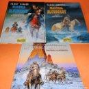 Cómics: BLUEBERRY. MARSHAL BLUEBERRY. GIRAUD & VANCE & ROUGE. TRES VOLUMENES. MUY BUEN ESTADO. Lote 118486759