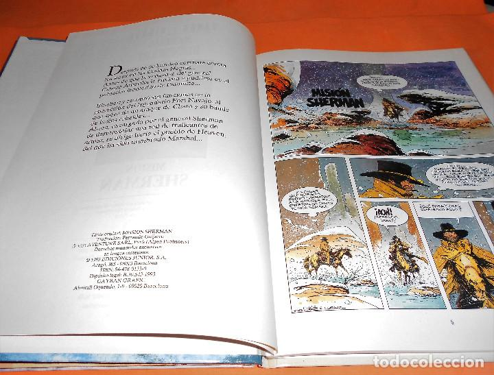Cómics: BLUEBERRY. MARSHAL BLUEBERRY. GIRAUD & VANCE & ROUGE. TRES VOLUMENES. MUY BUEN ESTADO - Foto 5 - 118486759