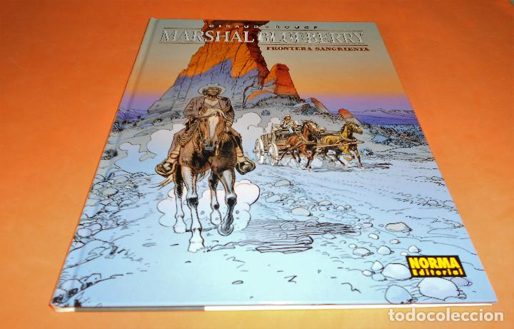 Cómics: BLUEBERRY. MARSHAL BLUEBERRY. GIRAUD & VANCE & ROUGE. TRES VOLUMENES. MUY BUEN ESTADO - Foto 6 - 118486759