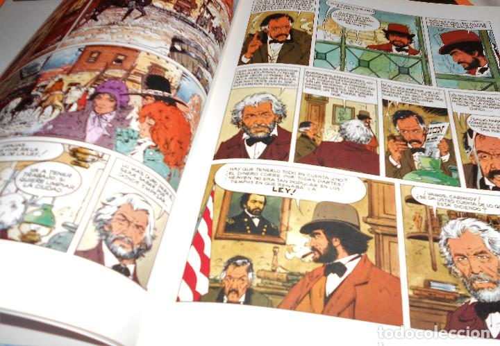Cómics: BLUEBERRY. MARSHAL BLUEBERRY. GIRAUD & VANCE & ROUGE. TRES VOLUMENES. MUY BUEN ESTADO - Foto 9 - 118486759