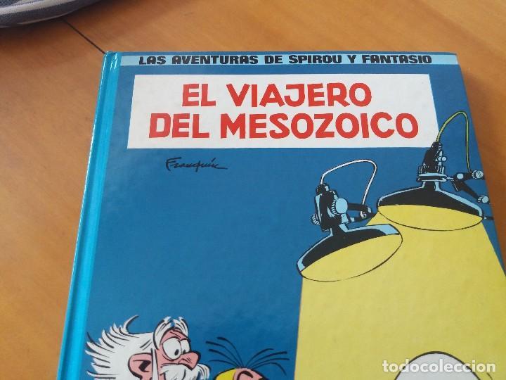 Cómics: El viajero del Mesozoico. Spirou y Fantasio. Junior Grijalbo. Franquin. - Foto 2 - 118568863