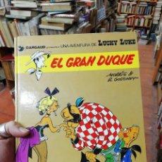 Cómics: LUCKY LUKE Nº 3 EL GRAN DUQUE (MORRIS / GOSCINNY) GRIJALBO - C22. Lote 118806803