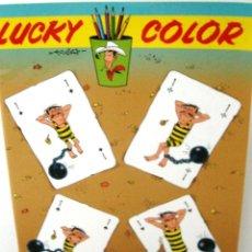 Cómics: LUCKY COLOR - CUADERNO DE COLOREAR DE LUCKY LUKE. Lote 118945099