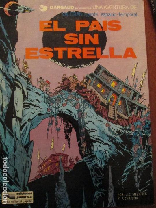 VALERIAN---EL PAIS SIN ESTRELLA (Tebeos y Comics - Grijalbo - Valerian)