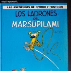 Cómics: LAS AVENTURAS DE SPIROU Y FANTASIO Nº 3. LOS LADRONES DEL MARSUPILAMI. EDITORIAL GRIJALBO. Lote 119236555