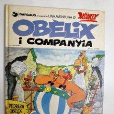 Cómics: ASTERIX Nº 23 - OBELIX I COMPANYIA- EN CATALÀ AÑO 1980. Lote 119944823