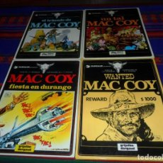 Cómics: MAC COY 2 UN TAL 4 EL TRIUNFO DE ALEXIS 5 WANTED 10 FIESTA EN DURANGO. GRIJALBO 1978 MUY BUEN ESTADO. Lote 120055139