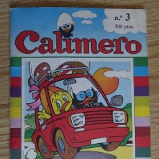 Cómics: CALIMERO Nº 3 TU REVISTA VIAJA CON CALIMERO EDICIONES JUNIOR 1990 GRIJALBO MONDADORI. Lote 120103379