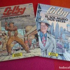 Cómics: COLBY ALTITUD MENOS TREINTA + EL SOL MURIO DOS VECES COMPLETA ( GREG BLANC-DUMONT) ¡MUY BUEN ESTADO!. Lote 120192587
