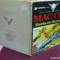 Cómics: MAC COY Nº 10. FIESTA EN DURANGO. ILUSTRACIONES DE PALACIOS. GRIJALBO DARGAUD 1983.. Lote 120295311