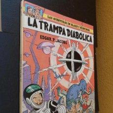 Cómics: LAS AVENTURAS DE BLAKE Y MORTIMER LA TRAMPA DIABÓLICA Nº 6 EDITORIAL GRIJALBO TAPA DURA. Lote 120392887