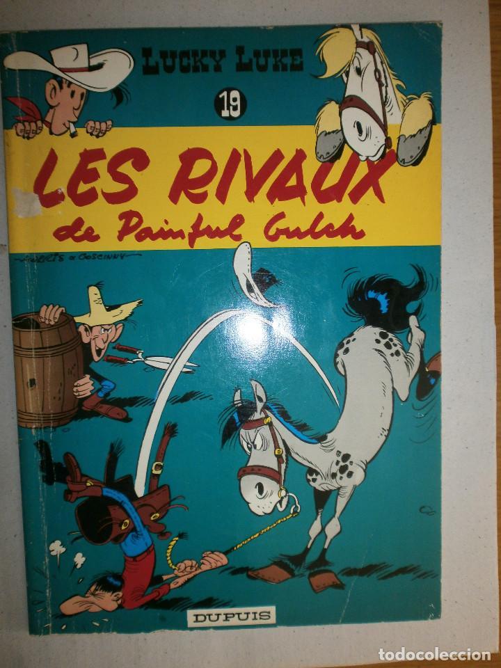 LUCKY LUKE ' LES RIVAUX DE PAINFUL GULCH ' 1978 DUPUIS BÉLGICA N 19 (Tebeos y Comics - Grijalbo - Lucky Luke)