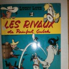 Cómics: LUCKY LUKE ' LES RIVAUX DE PAINFUL GULCH ' 1978 DUPUIS BÉLGICA N 19. Lote 120433643