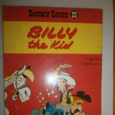 Cómics: LUCKY LUKE 'BILLY THE KID ' 1978 DUPUIS BÉLGICA N 20. Lote 120433855