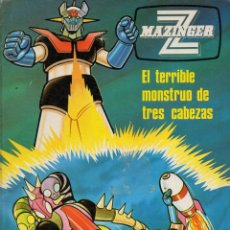 Cómics: MAZINGER Z EL TERRIBLE MONSTRUO DE TRES CABEZAS (1978). Lote 120553179