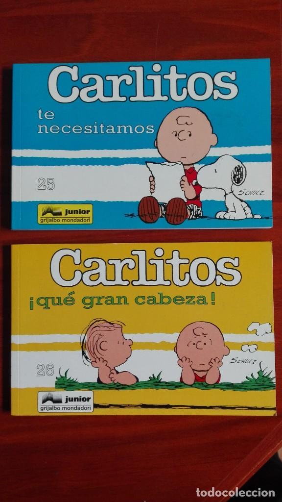 SNOOPY Y CARLITOS NÚMERO 25 Y 26 NUEVOS TIRAS DE PRENSA (Tebeos y Comics - Grijalbo - Otros)