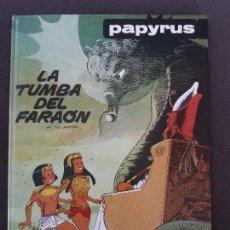 Comics : PAPYRUS GRIJALBO JUNIOR Nº 4 LA TUMBA DEL FARAÓN. Lote 120822203
