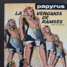 Comics : PAPYRUS GRIJALBO JUNIOR Nº 7 LA VENGANZA DE RAMSÉS. Lote 120822527