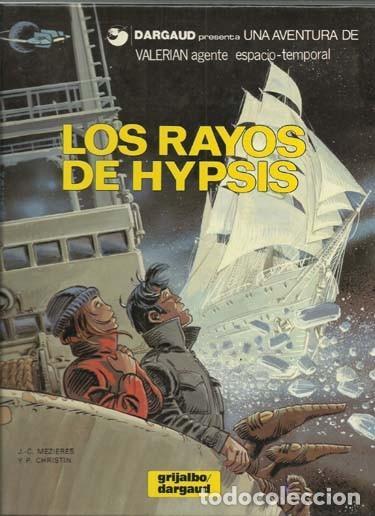 VALERIAN 12: LOS RAYOS DE HYPSIS, 1986, GRIJALBO, IMPECABLE (Tebeos y Comics - Grijalbo - Valerian)