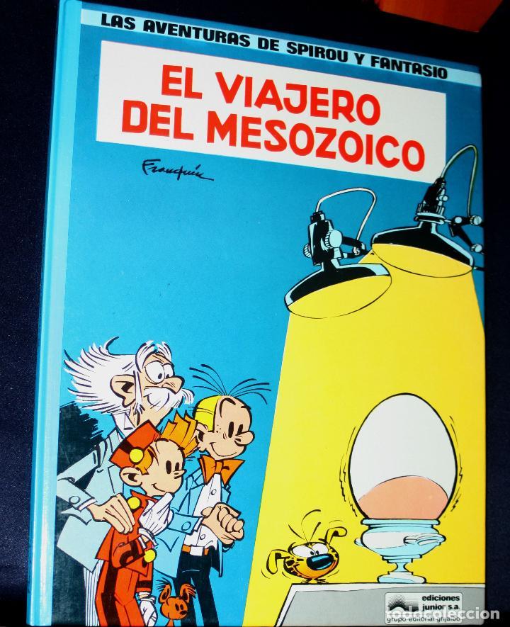 LAS AVENTURAS DE SPIROU Y FANTASIO Nº11 : EL VIAJERO DEL MESOZOICO (FRANQUÍN) (Tebeos y Comics - Grijalbo - Spirou)