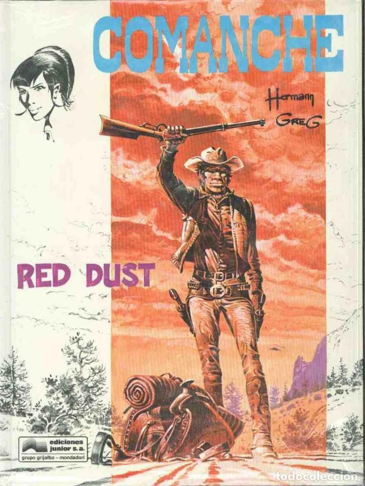 RED DUST (Tebeos y Comics - Grijalbo - Comanche)