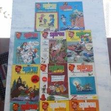 Cómics: SPIROU ARDILLA Nº 2,4,5,11,12,13,15,29,31,48,67 CON TAPAS DEL COLECIONABLE ,POSTERS, COLECIONABLES. Lote 121218347