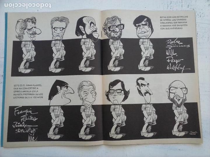 Cómics: SPIROU ARDILLA Nº 2,4,5,11,12,13,15,29,31,48,67 CON TAPAS DEL COLECIONABLE ,POSTERS, COLECIONABLES - Foto 17 - 121218347