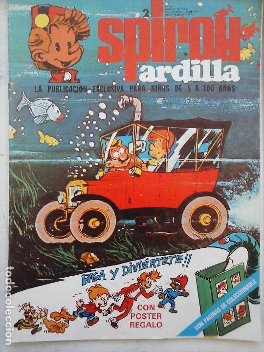 Cómics: SPIROU ARDILLA Nº 2,4,5,11,12,13,15,29,31,48,67 CON TAPAS DEL COLECIONABLE ,POSTERS, COLECIONABLES - Foto 26 - 121218347
