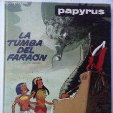 Cómics: PAPYRUS Nº 4 - LA TUMBA DEL FARAÓN POR DE GIETER - 1988 EDICIONES JUNIOR - TAPA DURA, MUY BIEN. Lote 121347455