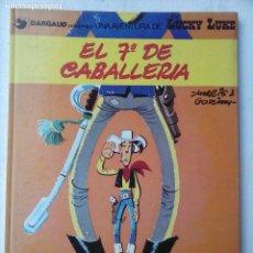 Cómics: LUCKY LUKE Nº 7 - EL 7º DE CABALLERÍA - 1985 GRIJALBO/DARGAUD. Lote 157869073