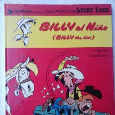 Cómics: LUCKY LUKE Nº 14- BILLY EL NIÑO - 1980 GRIJALBO/DARGAUD. Lote 121347999