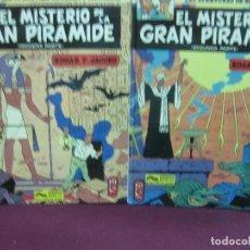 Cómics: LAS AVENTURAS DE BLAKE Y MORTIMER. EL MISTERIO DE LA PIRAMIDE (1ª Y 2ª PARTE). EDICIONES JUNIOR 1983. Lote 121358311