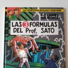 Cómics: BLAKE Y MORTIMER , LAS 3 FORMULAS DEL PROF. SATO. Lote 121411596