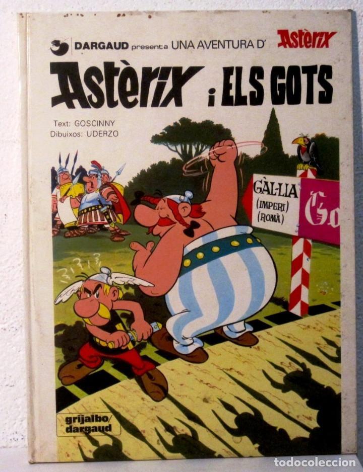 ASTERIX I ELS GOTS - EN CATALAN - TAPA DURA (Tebeos y Comics - Grijalbo - Asterix)