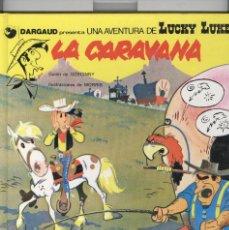 Cómics: LUCKY LUKE Nº12. LA CARAVANA. ED. GRIJALBO 1992. 1ª EDICIÓ CATALÀ. Lote 121579083