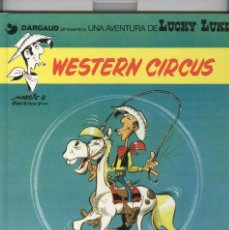 Cómics: LUCKY LUKE Nº15. WESTERN CIRCUS. ED. GRIJALBO 1992. 1ª EDICIÓ CATALÀ. Lote 121579179