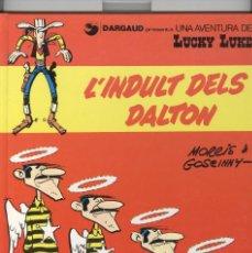 Cómics: LUCKY LUKE Nº13. L'INDULT DELS DALTON. ED. GRIJALBO 1992. 1ª EDICIÓ CATALÀ. Lote 121579255
