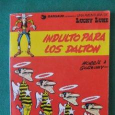 Cómics: LUCKY LUKE TOMO CON 2 AVENTURAS GRIJALBO/DARGAUD RUSTICA. Lote 121710947