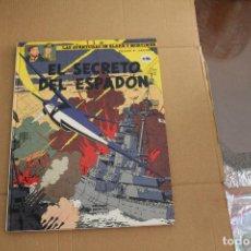 Comics : LAS AVENTURAS DE BLAKE Y MORTIMER Nº 11, EL SECRETO DEL ESPADÓN, TAPA DURA,EDITORIAL GRIJALBO. Lote 123037051