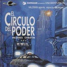 Cómics: VALERIAN, EL CIRCULO DEL PODER, MAZIERES - CHISTIN (GRIJALBO). Lote 123061199