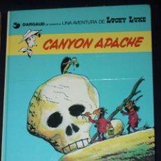 Comics : LUCKY LUKE Nº 17 : CANYON APACHE (GRIJALBO, 1981). Lote 124227563