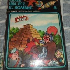 Cómics: ERASE UNA VEZ... EL HOMBRE N.º 8 SIGLO DE ORO / INGLATERRA ISABELINA ED. JUNIOR 1979. Lote 124401327