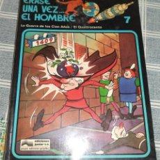 Cómics: ERASE UNA VEZ... EL HOMBRE N.º 7 GUERRA 100 AÑOS / EL QUATTROCENTO ED. JUNIOR 1979. Lote 124401419