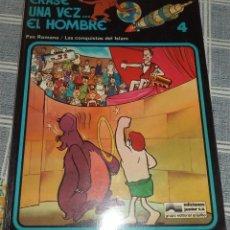 Cómics: ERASE UNA VEZ... EL HOMBRE N.º 4 PAX ROMANA / CONQUISTAS DEL ISLAM ED. JUNIOR 1979. Lote 124401791
