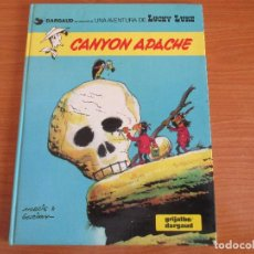 Cómics: COMIC LUCKY LUKE : Nº 17 - CANYON APACHE. Lote 124423523